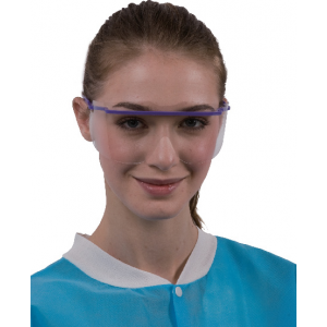 Disposable safety shields ( Eye Wear and frames)