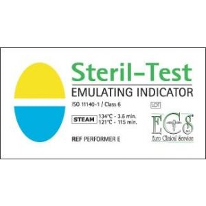 ECS Sterile Test Emulating Indicator Class 6