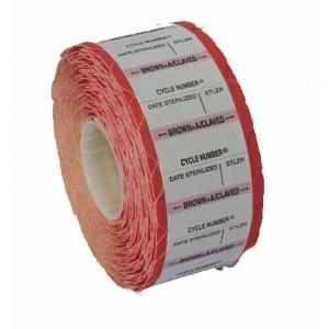 Autoclave Cycle Tracking Indicator Labels Red