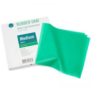 Ongard Rubber Dam Mint, Latex, Medium, Box of 36