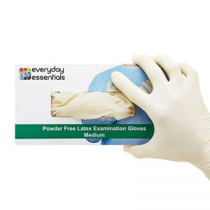 Latex Powder free Examination Gloves